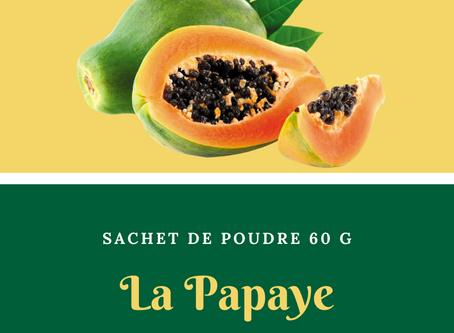 Natura Plantes®: Feuilles et fleurs de Papaye