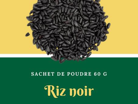 Natura Plantes®: Riz Noir Germé