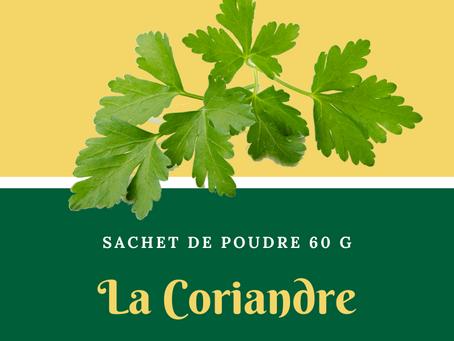 Natura plantes: La Coriandre