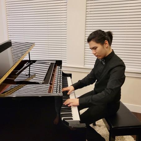 Brayden is accepted to Berklee College of Music!