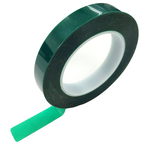 QS 2935 Polyester Silicone Tape Green