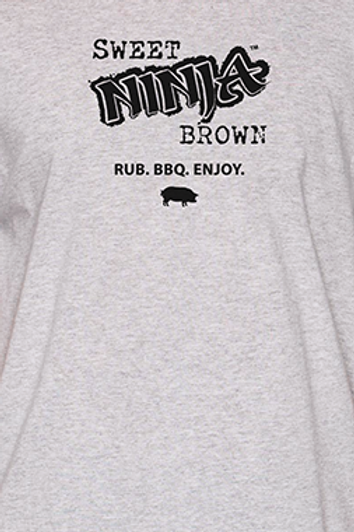 Sweet Ninja Brown Rub T-SHIRT