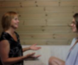 Sujati coaching a client