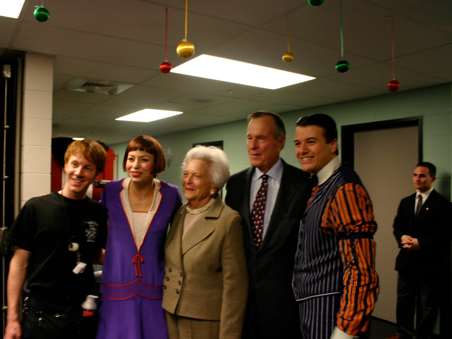 Darcie & Troy with Pres. and Mrs. Bush