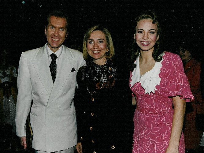 Harry, Sen. Clinton, Darcie - Crazy For You