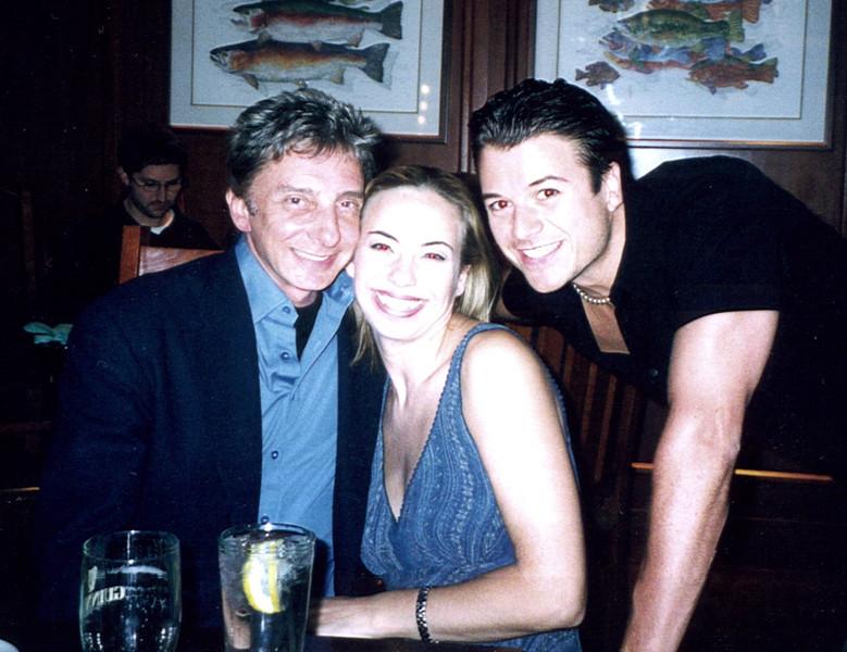 Barry Manilow, Darcie (Lola), Troy (Swing)