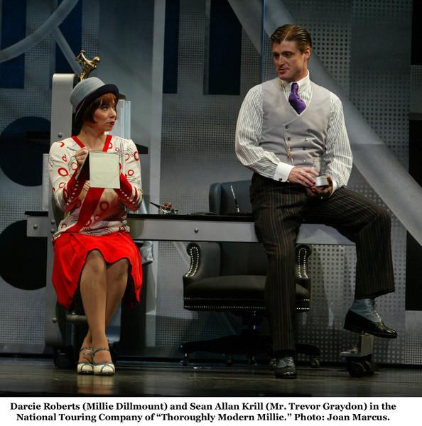 Darice with Sean Allan Krill