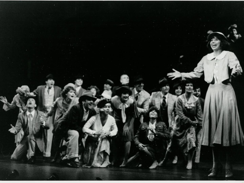 Darice as Peggy in 42nd Street