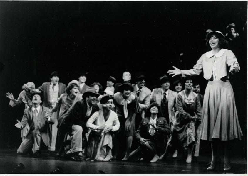 Darice as Peggy in 42nd Street