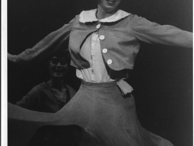Darcie as Peggy