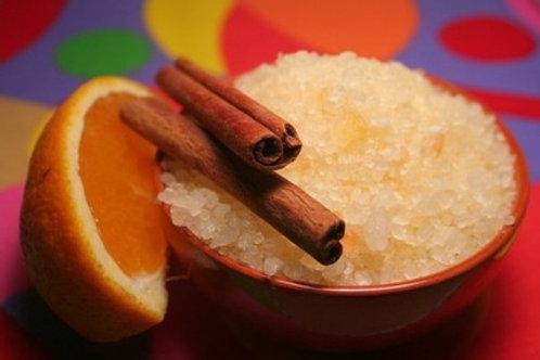 Spiced Orange Bath Salts