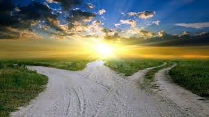 The crossroads of life paths