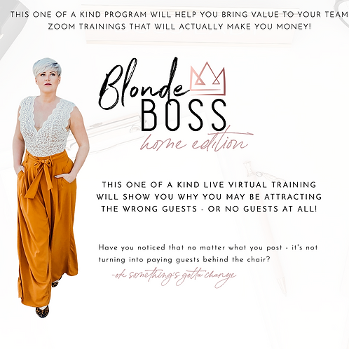 Boss Up CAN digital training