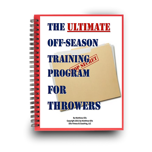 The Ultimate Off-Season Training Guide for Throwers