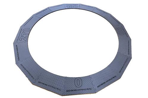 "Porta-Circle 3/4"" Portable Shot Put Circle"