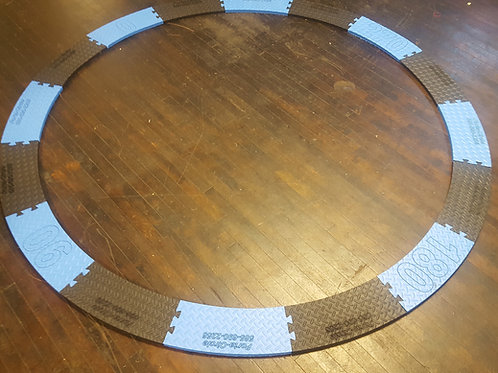 Discus to Shot Put/Hammer/Weight Throwing circle conversion insert