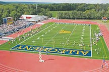 Allegheny College PA overnight throws camp PA Shot put discus javelin