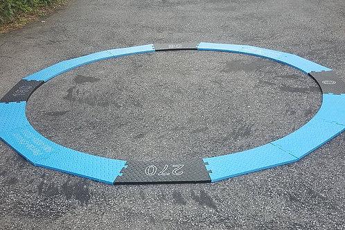 "PREMIUM Porta-Circle 1"" Thick Portable Discus Circle"