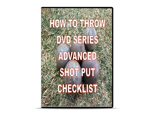 Advanced Glide Shot Put DVD