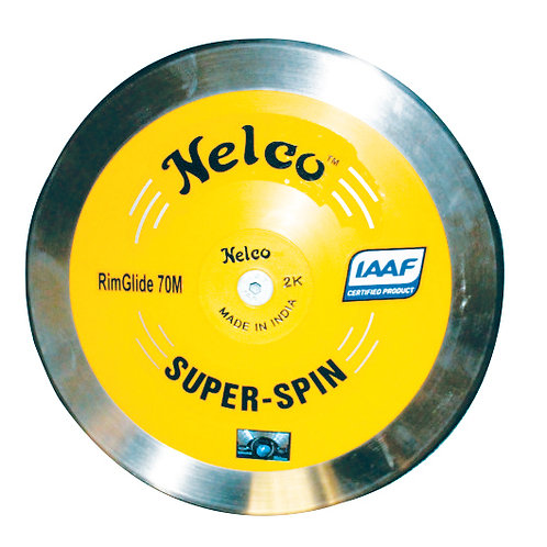 Nelco 1kg Super Spin Stainless Steel Discus