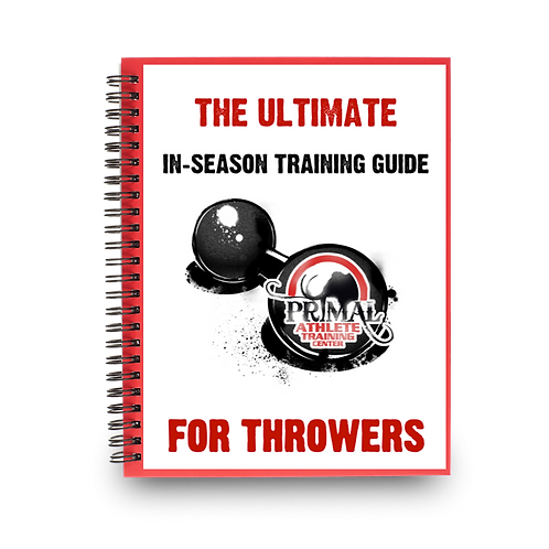 The Ultimate In-Season Training Guide for Throwers