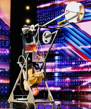 Escape Artist seen on America's Got Talent