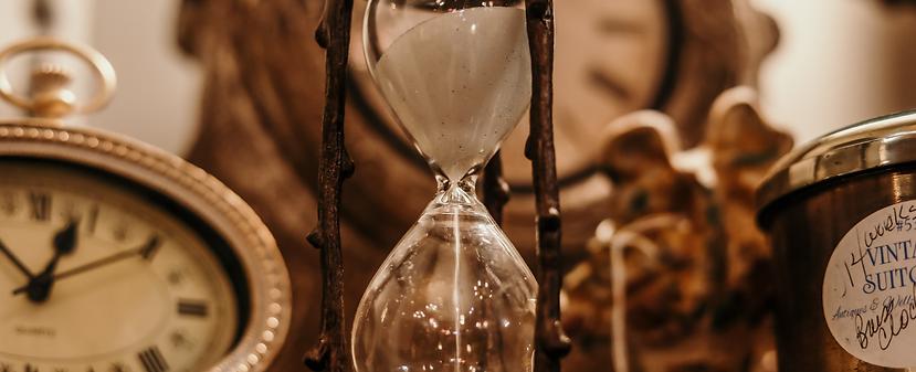 Deine Zeit läuft Dir unwiderruflich ab - nutze sie