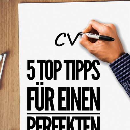 5Top-Tipps für einen tollen Lebenslauf
