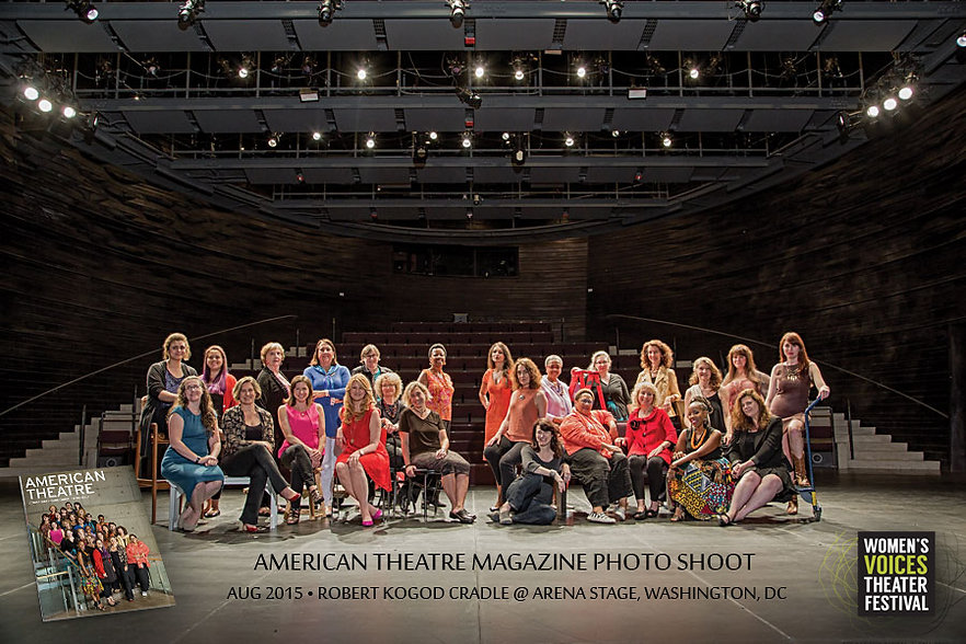 American Theatre Magazine - Womens Voices Festival Cover Shoot - Arena Stage - #dcplaywrights