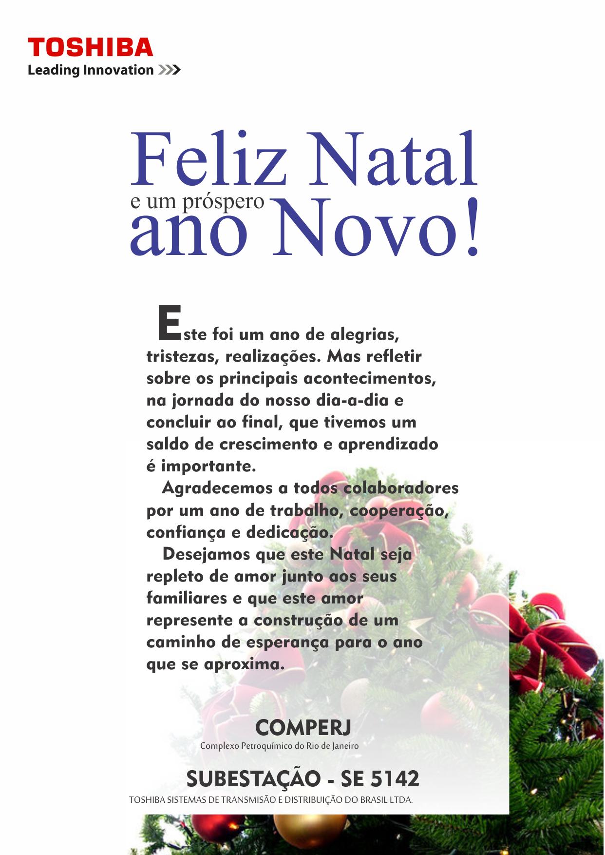 Cartaz Natal 2012