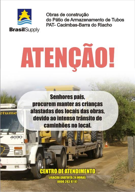 Cartaz Brasil Supply 2