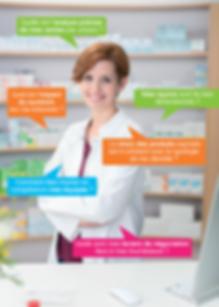 Mise en place des actions merchandising en pharmacie d'officine par Evolumerch. Objectif : augmenter la rentabilité, le chiffre d'affaires du point de vente.