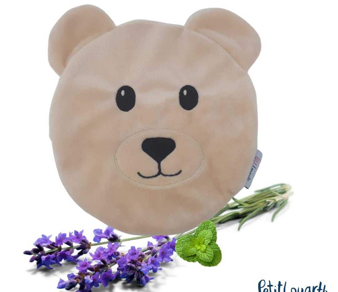 Almofadinha urso