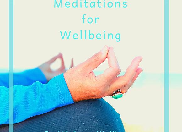 Wellbeing Meditations (Digital Download)