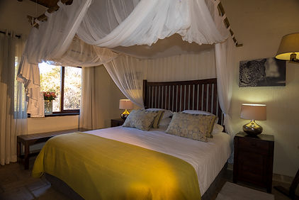 Leoprd luxury room at Matimba bush lodge