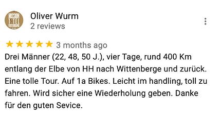Michael Poliza eBike Adventures Review eBike Tour Hamburg RIESE & MÜLLER e-Bikes