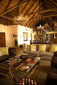 Matimba Bush Lodge lounge area