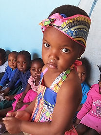 Beautiful girl at Matimba Day Care