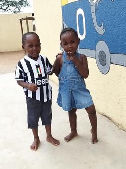 Kiddies at Matimba day care