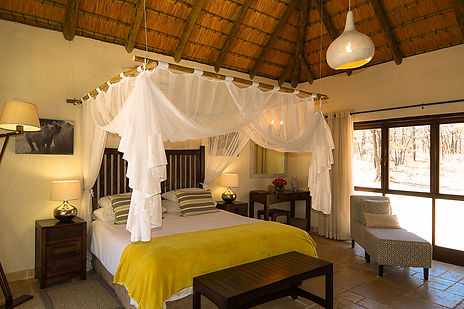 Rhino suite at Matimba bush lodge