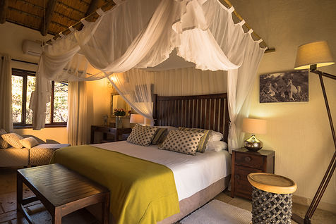 Lion luxury room at Matimba bush lodge