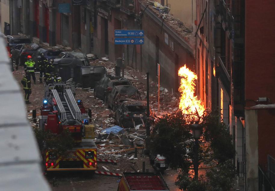 Cierran caso de explosión en Madrid por fortuita