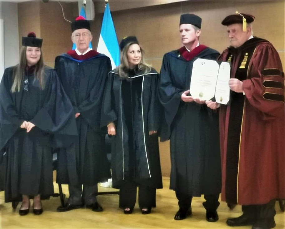 Jaime Parejo nombrado Doctor Honoris Causa