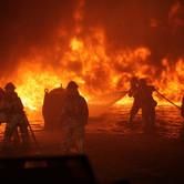 Jefes de bomberos peruanos