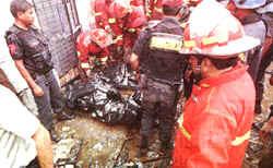 Incendio en Centro de Lima