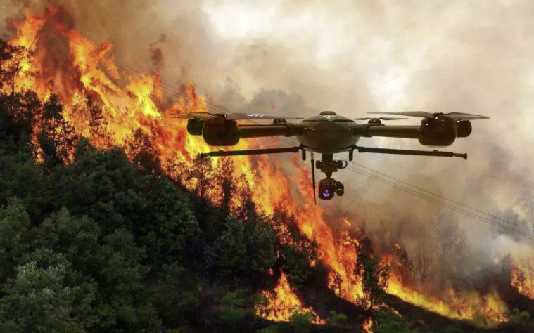 Drones para bomberos