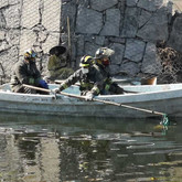 Bomberos recuperan cuerpo en canal de Ciudad de México