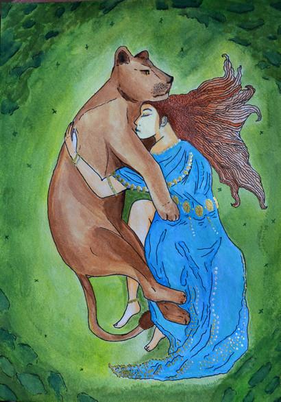 Circé et la Lionne