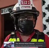 Audio editado para ridiculizar a bombero