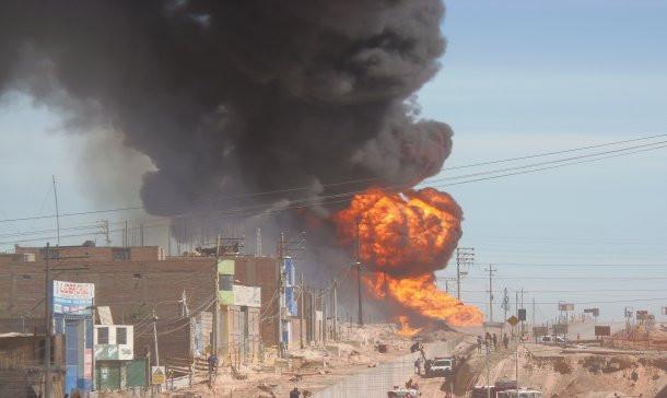 La Explosión en Arequipa, José Musse